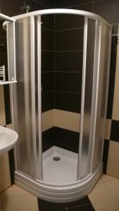 Koupelna má originální design